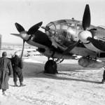 He 111 H A1+BT WNr 4566 9/KG 53 Russia Winter 42 43 3