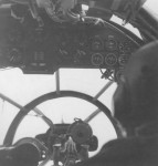 He111 H bomber cockpit