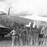 He111 KG55 crew