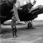 He 111 from KG 100 with black undersurfaces