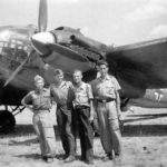 He 111P Stammkennzeichen CK+HC tail code P 4 6 Italy 1943