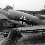 Heinkel He111 with the tactical code 7A+DH of the Aufklarungsgruppe 121