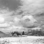 Heinkel He111 Medium Bomber at airfield