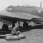 Heinkel He111 and bombs