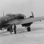 Heinkel He111 in winter