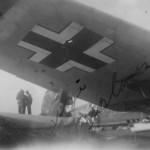 Heinkel He111 right wing 1945