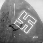 Heinkel He111 tail 1945
