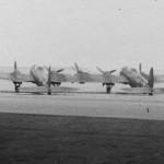 Heinkel He 111 Z Zwilling rear view