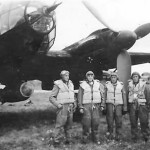Heinkel He 111 and luftwaffe crew