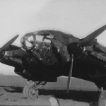 Heinkel He 111 bomber night camo