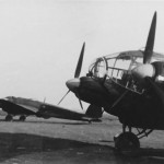 Heinkel He 111 bombers night camo