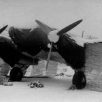 Heinkel He 111 in winter