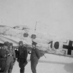 Heinkel He 111 of KG 27 winter camo Banak Norway