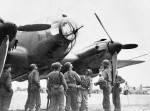 US Soldiers with Captured Luftwaffe He111 Bomber North Africa
