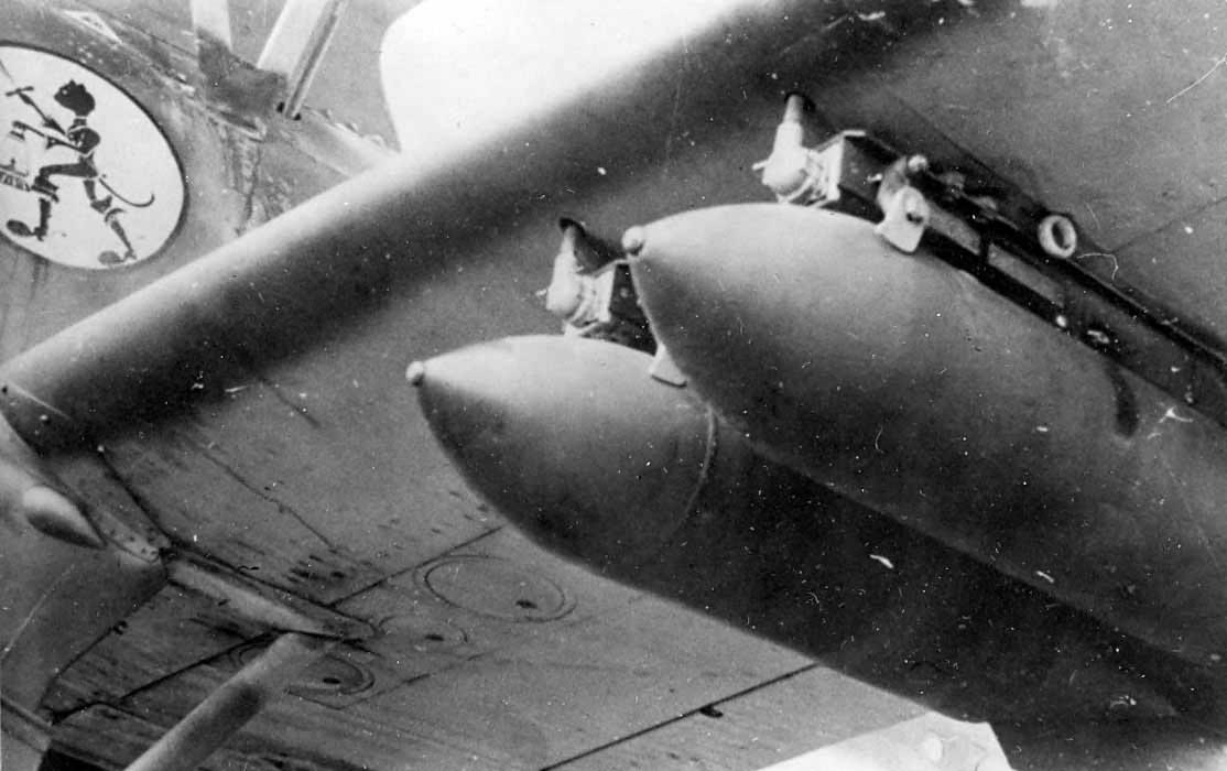 Henschel Hs123B of II Schlacht/LG2