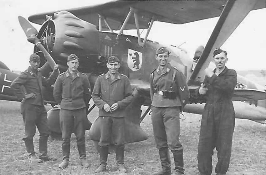 Henschel Hs 123 of the 5/LG2 Poland 1939