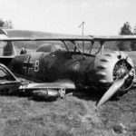 Crashed Henschel Hs 123B L2+BM of LG2