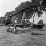 Henschel Hs 123 code L2+FN of LG2 1939 Poland