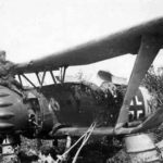 Crashed Hs 123 of SchG 1
