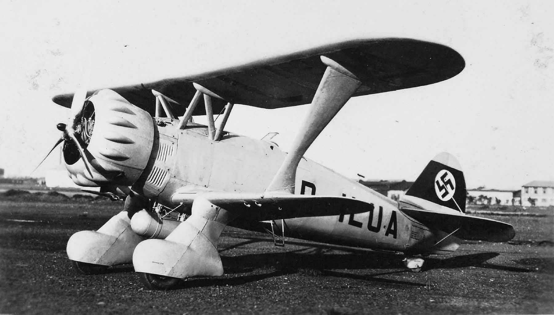 Henschel Hs 123 prototype V-1 D-ILUA