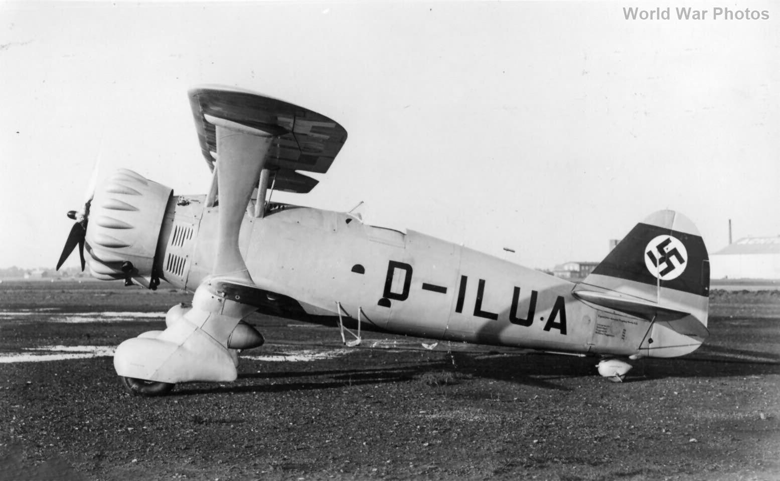 Henschel Hs123 V-1 D-ILUA 2