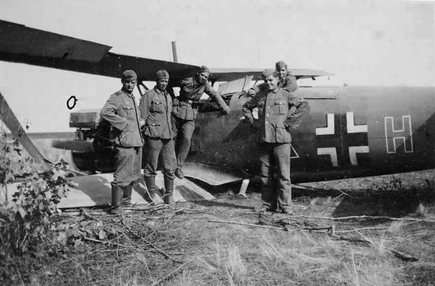 Henschel Hs 123 coded H