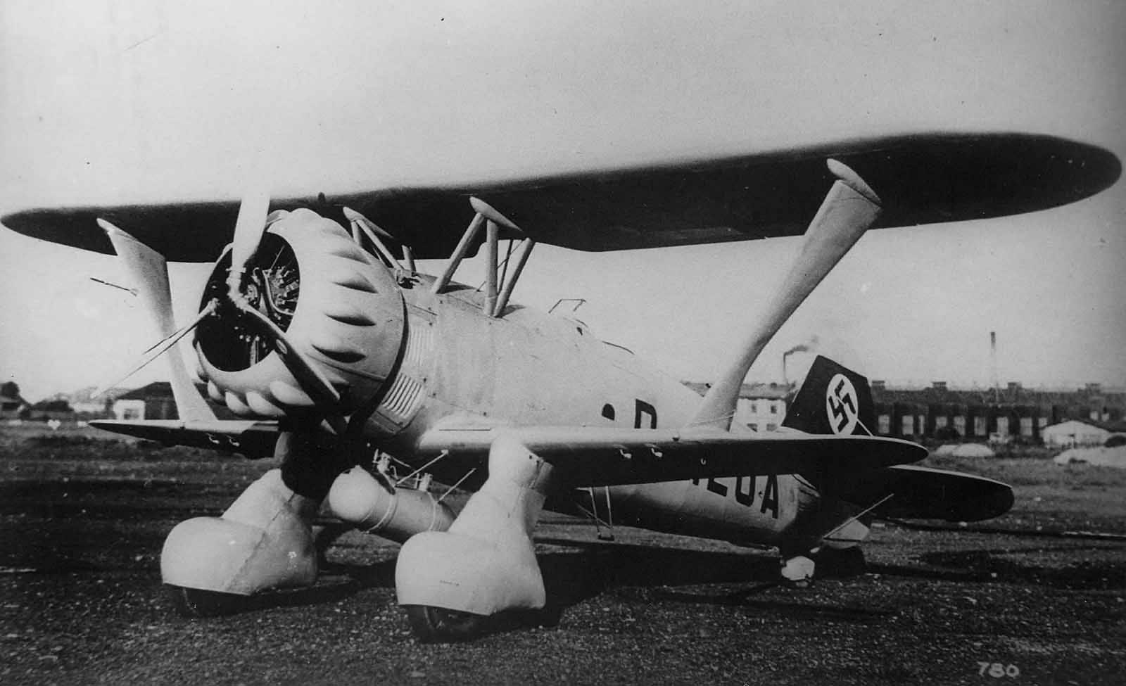 Prototype Hs 123 V-1