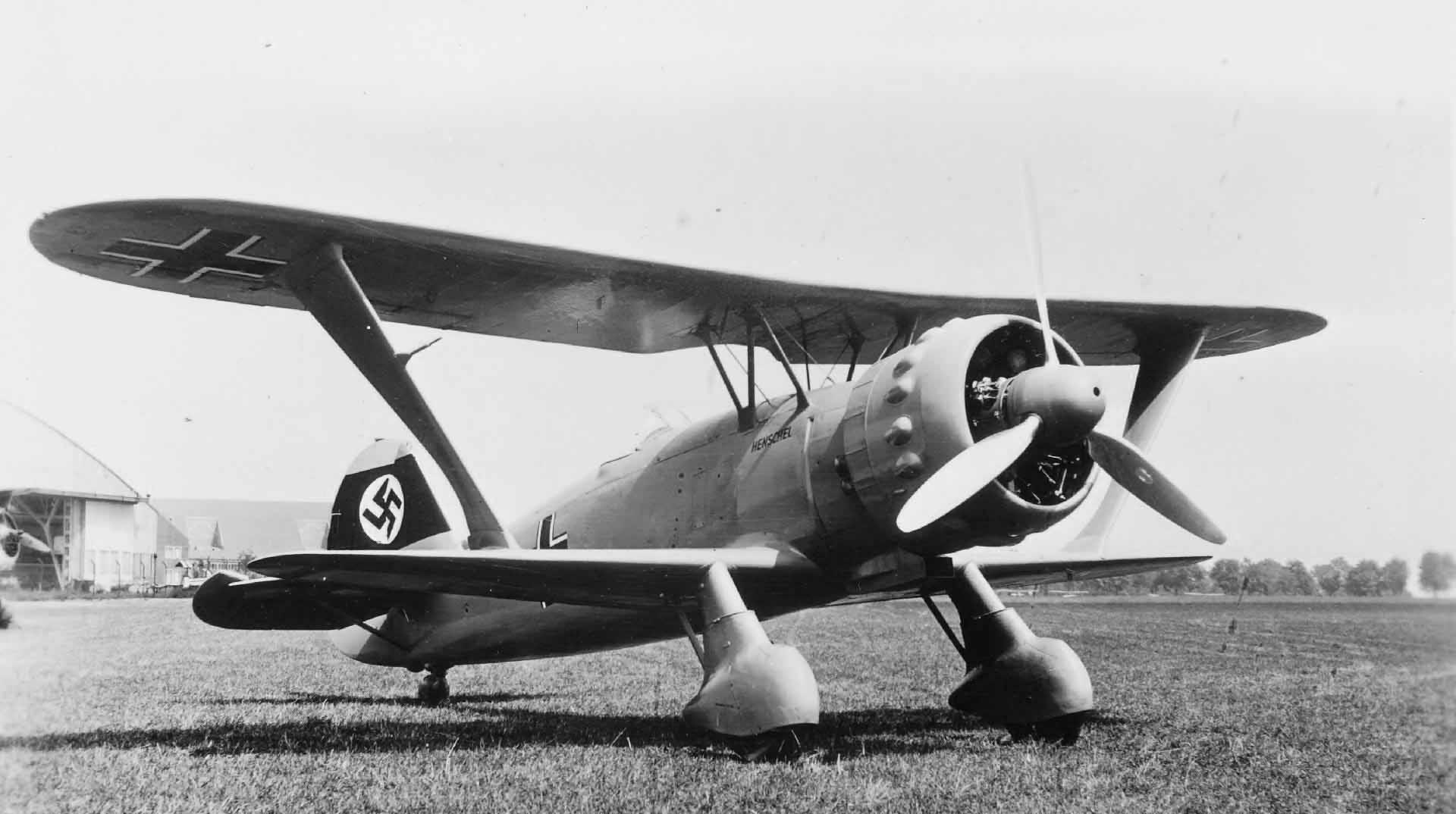 Hs 123 prototype V-5