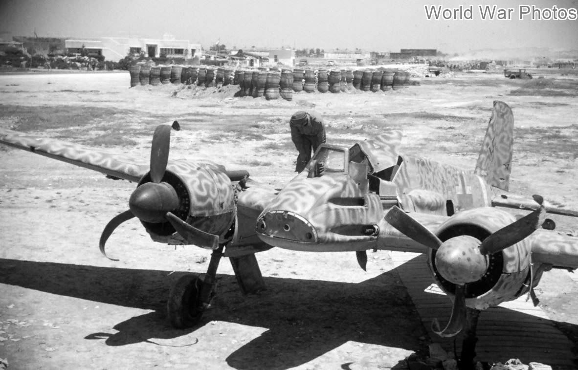He129 wreck, El Alouina Tunisia