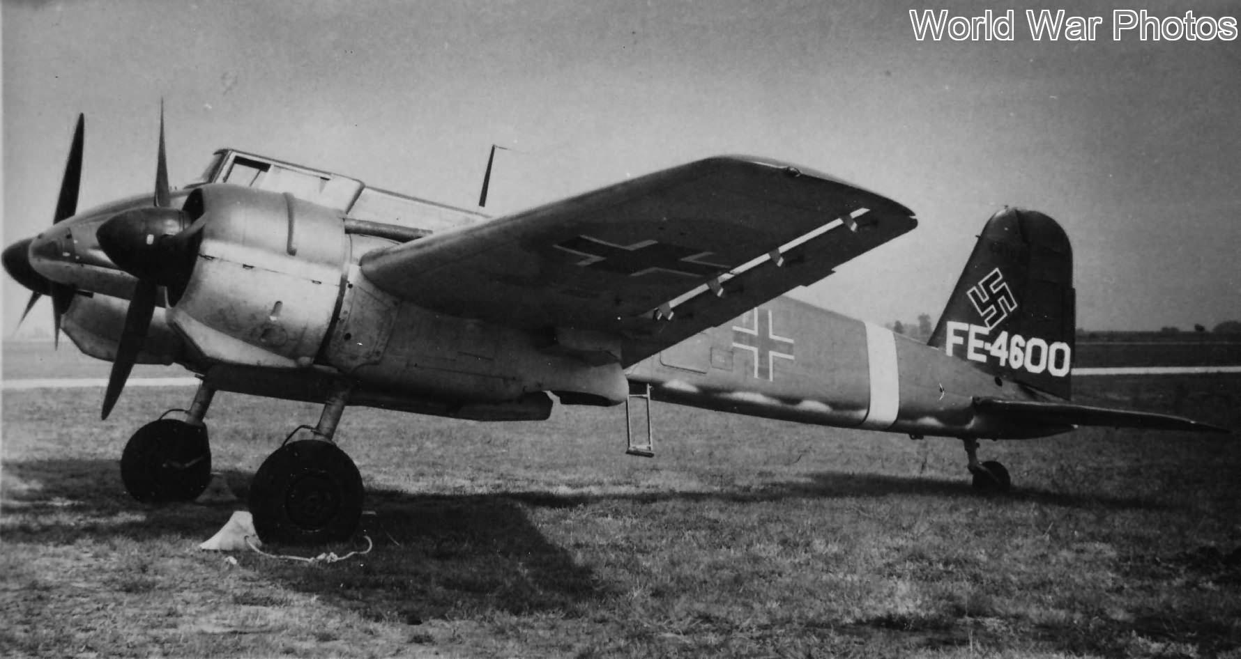 Henschel Hs 129 FE-4600 W.Nr 0385 Freeman Field