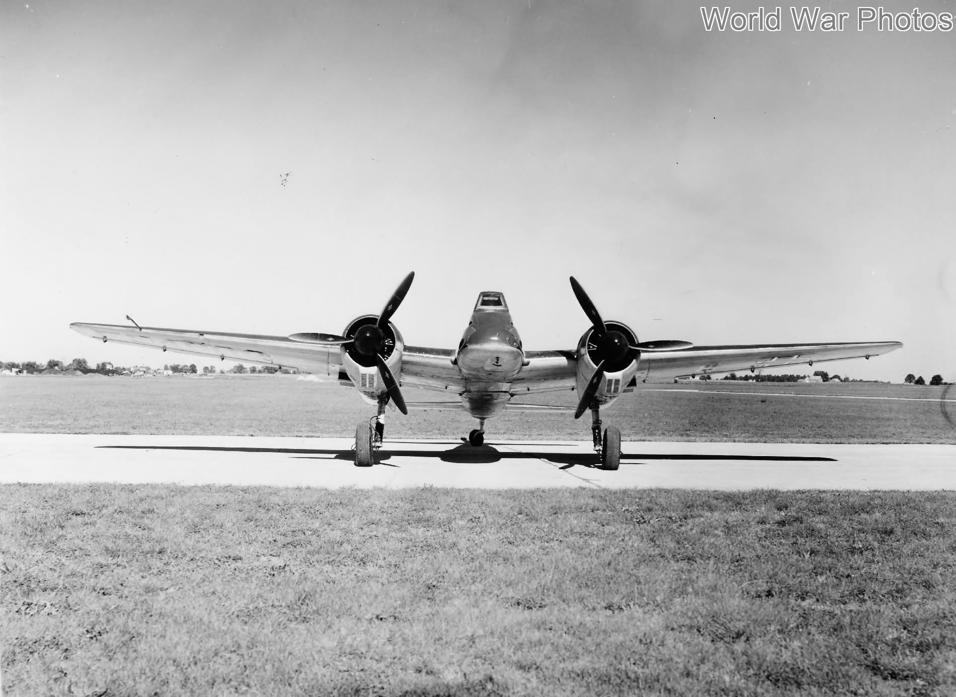 Captured Hs 129 B-2 at Freeman Army Airfield, Indiana, 1946
