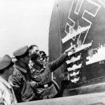 Ju88 victory markings on stabilizer