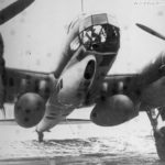 Ju 88 D-2 with two 900 liter tanks