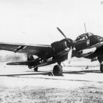 Ju 88R-2 of the NJG 1 antenna removed