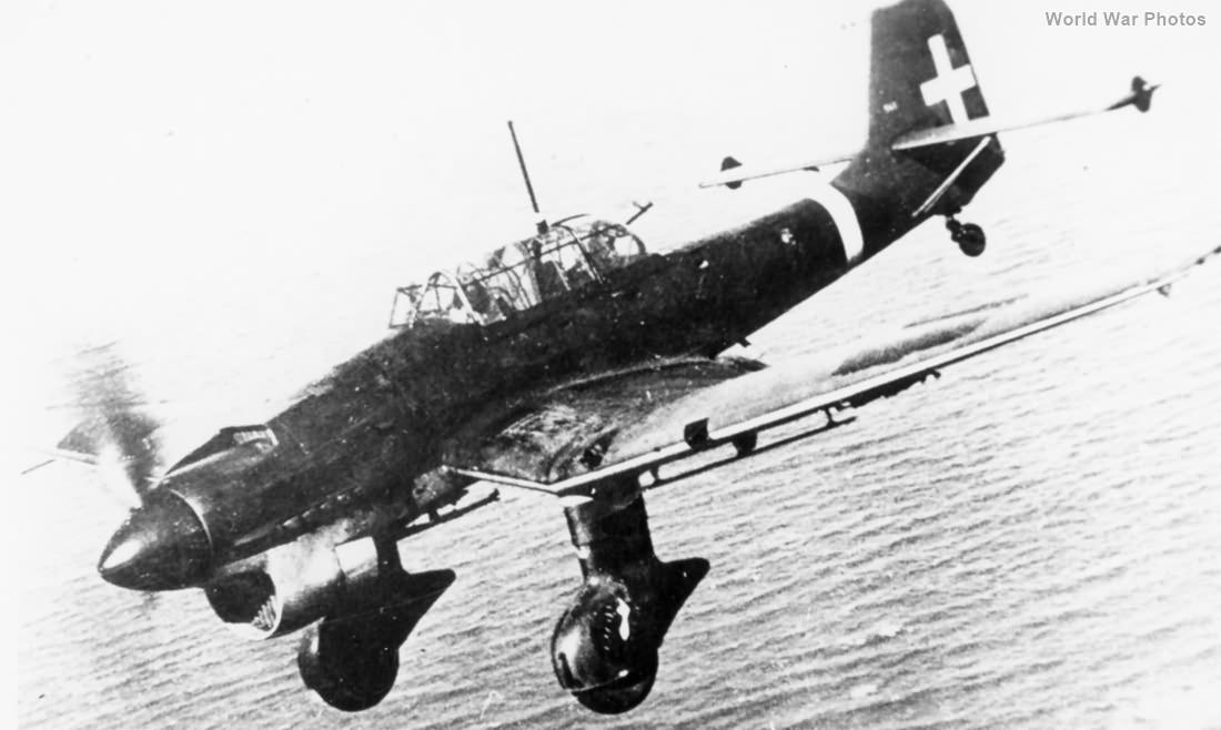 Italian Ju 87B