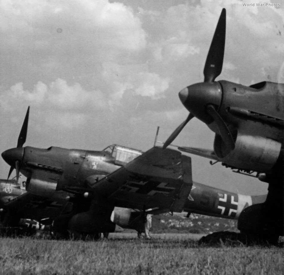 Junkers Ju 87B of the StG3 1941