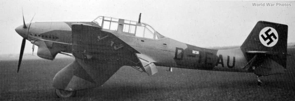 Ju87A D-IEAU