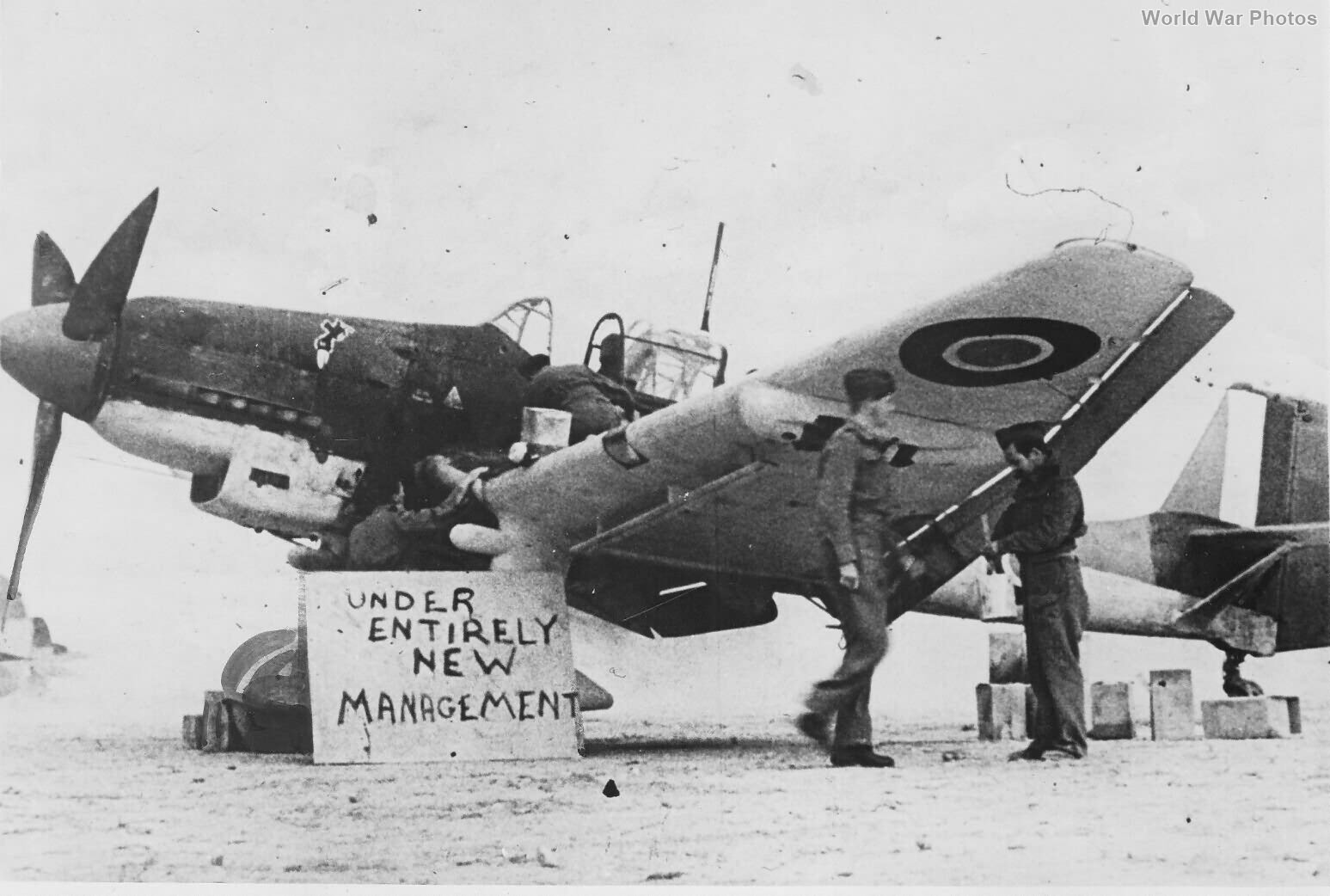 Ju87D-1 StG 1 RAF