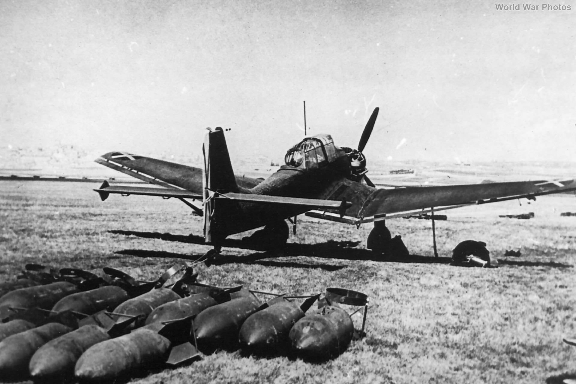 Ju87 Spain