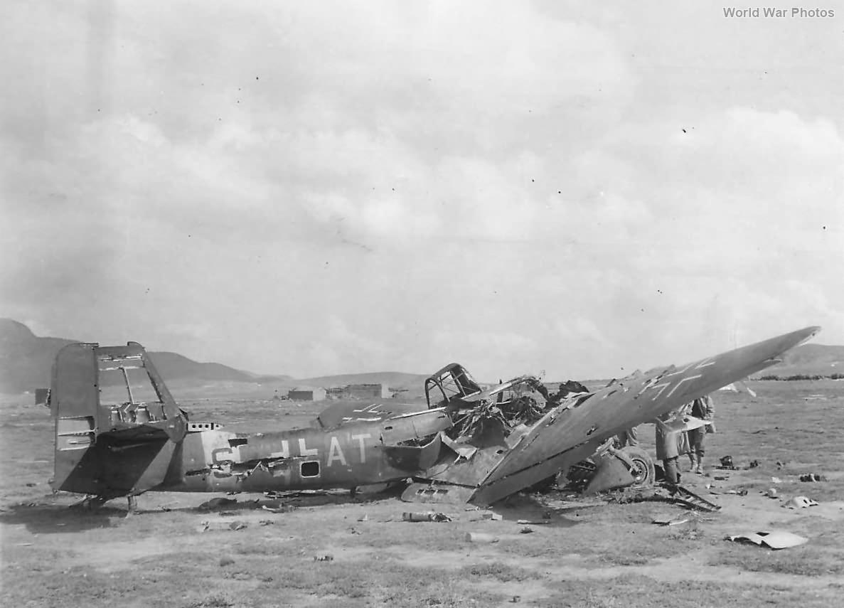 Ju87 S7-AT Tunisia 1943
