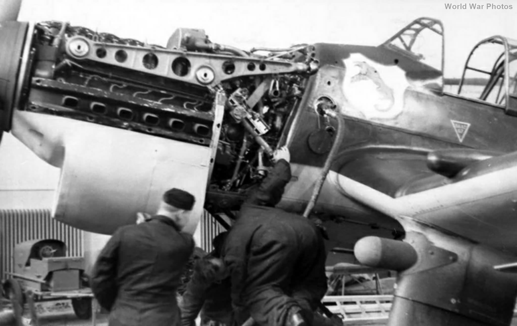 Ju 87B-1 engine