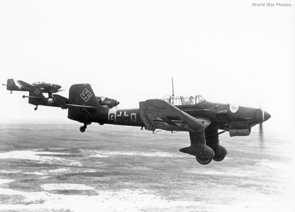 Ju 87B II StG 1