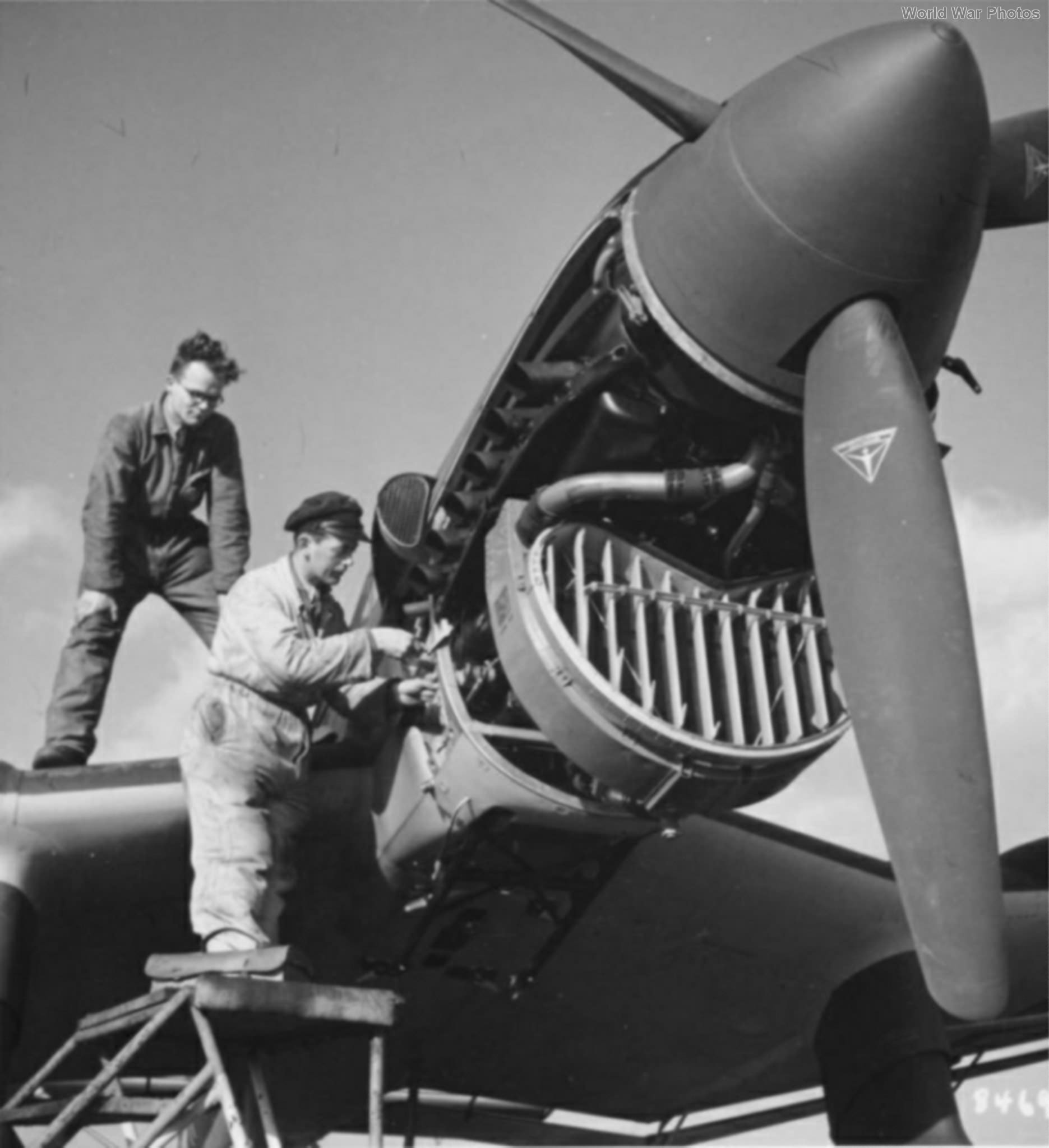 Ju 87B engine