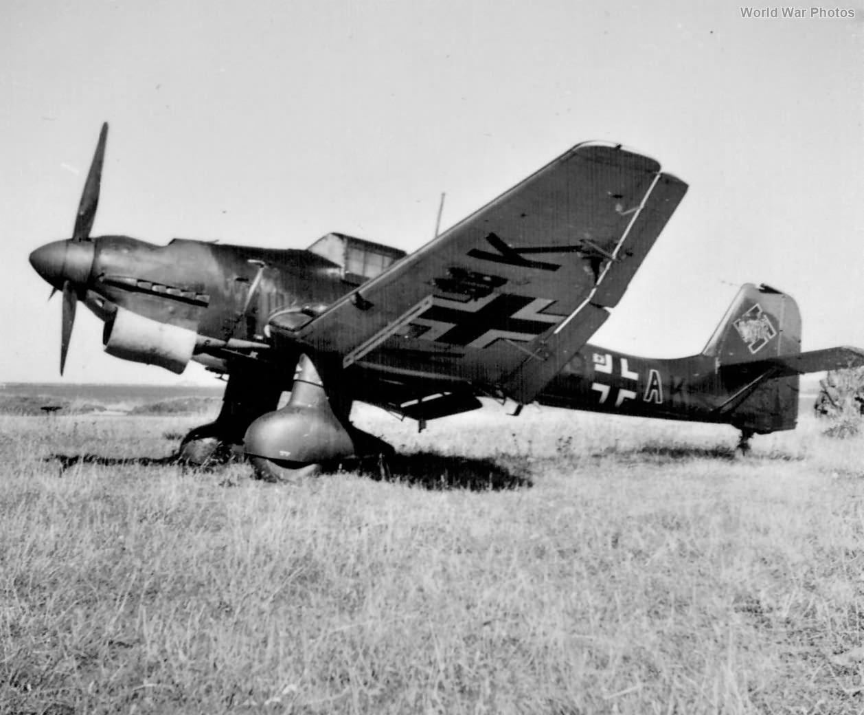 Ju 87 Cherbourg 1940