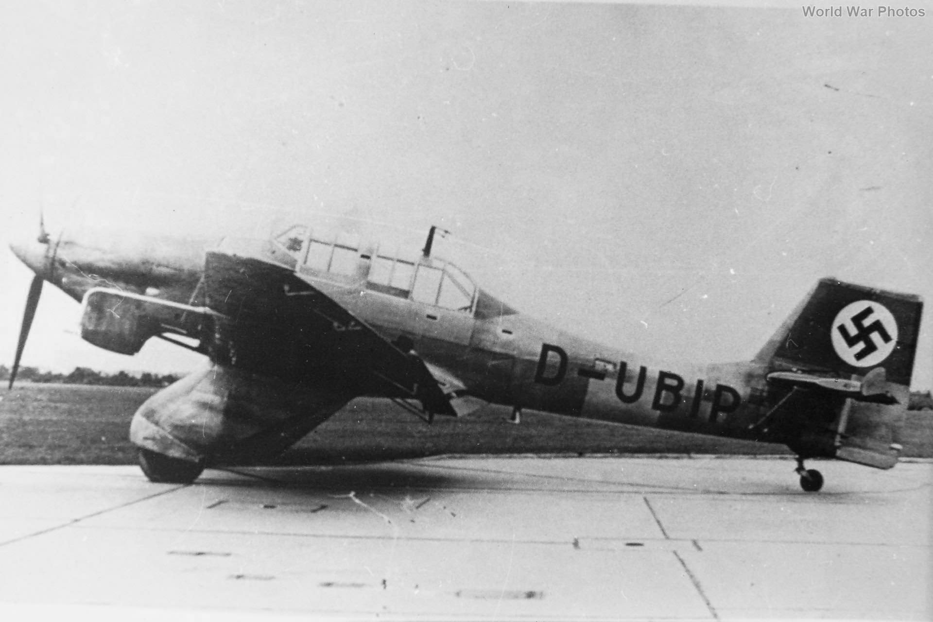 Junkers Ju 87 V-4 D-UBIP