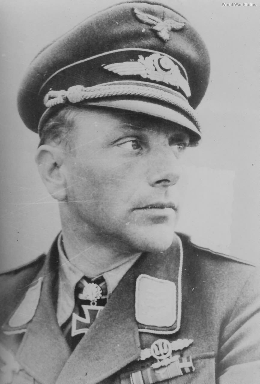 Stuka Ace pilot Alexander Gläser