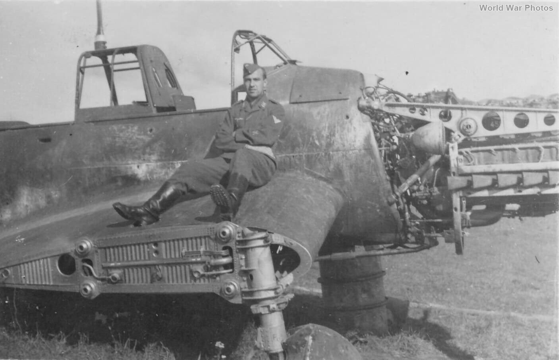 Wreck of Ju 87