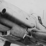 Ju 87D with flame-dampener