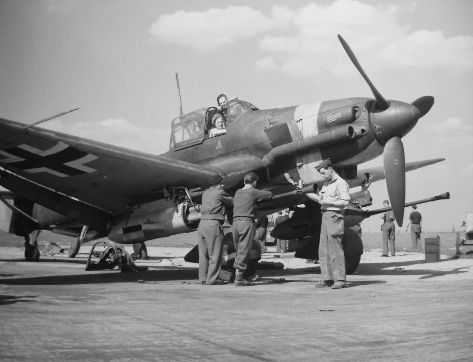 Junkers Ju 87 G-2 Kanonenvogel tank buster 1945