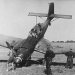 Crashed Ju87 Stuka